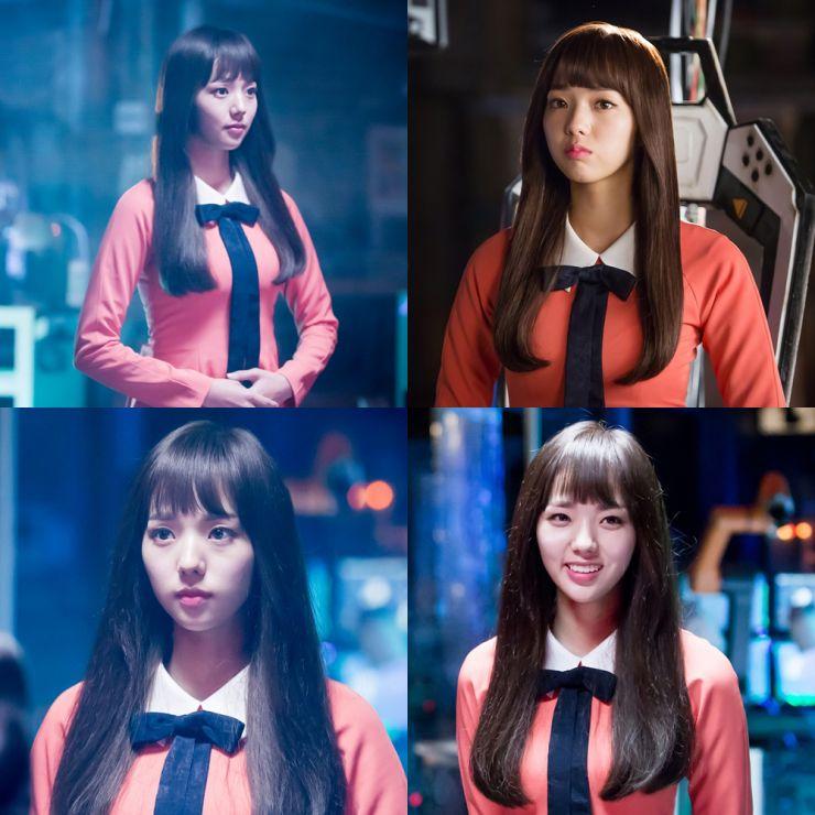 Chae Soo Bin como Aji-3 em I'm Not A Robot k-drama viki