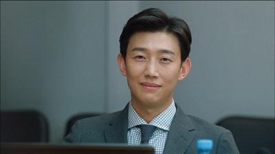 Kang Ki Young como Hwang Yoo Cheol em I'm Not A Robot k-drama viki