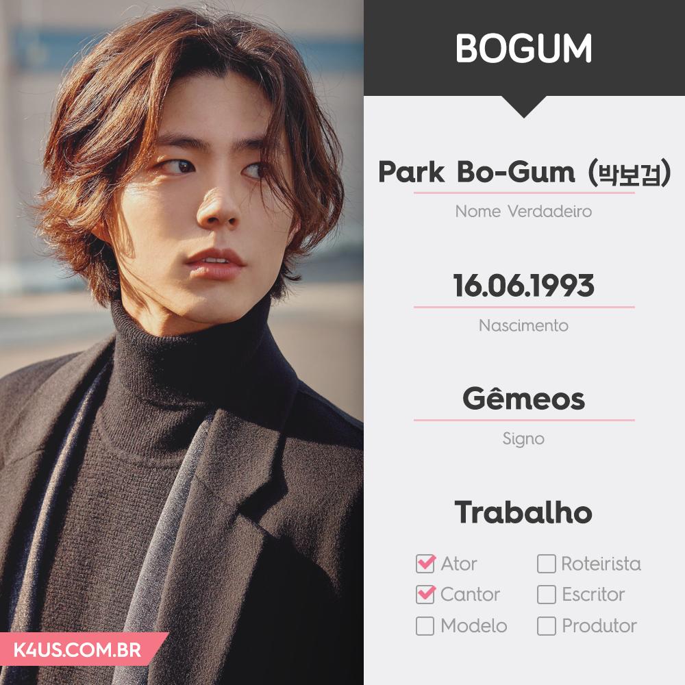 Tudo o que você precisa saber sobre o ator Park Bo Gum!